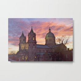 Cathedral of the Sacred Heart Metal Print