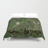 moss Duvet Covers featuring moss by Gabe Brison
