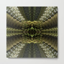 Tripping through the Woods Metal Print