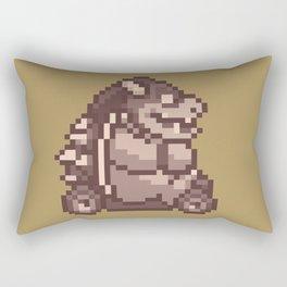 Pixelated Super Mario Kart - Bowser Rectangular Pillow