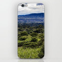 Stunning Views of the Nicaraguan Countryside and Farms from the Rainforest of Nicaragua iPhone Skin