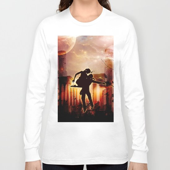 Dancing in the night Long Sleeve T-shirt