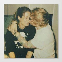 Sheeran and Seaborn Couple Canvas Print