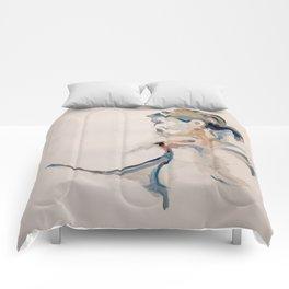 Self Portrait (1) Comforters