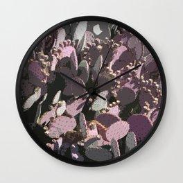 Cacti Field Wall Clock