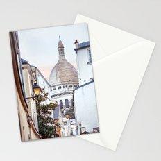 I love Montmartre, Paris. Stationery Cards