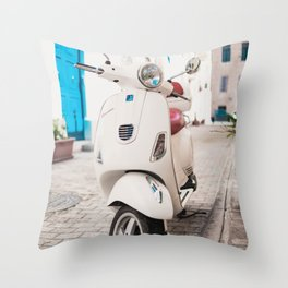 Valletta Streets Throw Pillow
