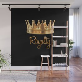 Royalty Gold Crown Wall Mural
