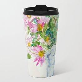 Handwrapped Bouquet Travel Mug
