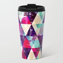 "Retro Geometrical Abstract Design ""Josephine"" inspired Travel Mug"