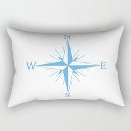 Wind compass Rectangular Pillow