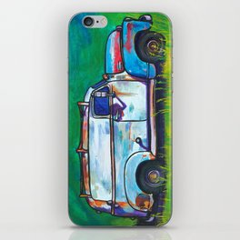 Big Whale (1950 Chevy Panel Truck) iPhone Skin