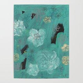 Flower Burst 3 Poster