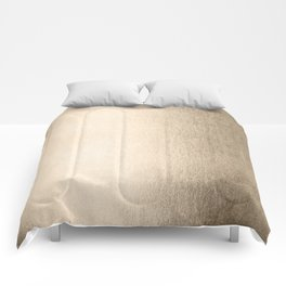 White Gold Sands Comforters