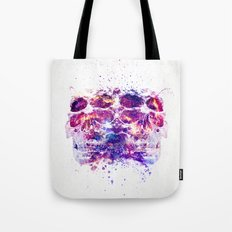 The 4i Skull Universe Tote Bag