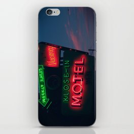 no tell iPhone Skin