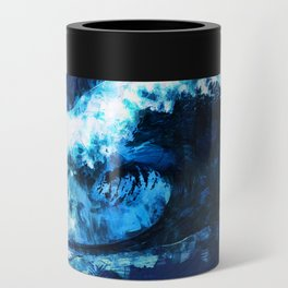 Blue wave Can Cooler