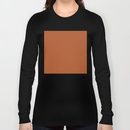 Copper #B2592D Long Sleeve T-shirt