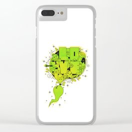 Love Doodle! Clear iPhone Case