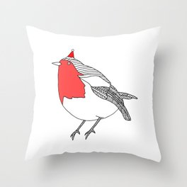 Robin r Throw Pillow