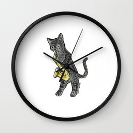 Reed Meowtet: Jax Wall Clock