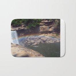 Rainbow at Falls Bath Mat