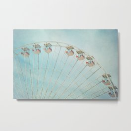 The Giant Wheel Metal Print
