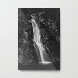 Waterfall in Hell Gorge, Slovenia Metal Print
