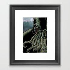 Ia! Ia! Cthulhu! Framed Art Print