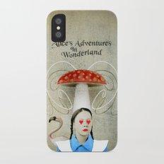 Alice In Wonderland Slim Case iPhone X