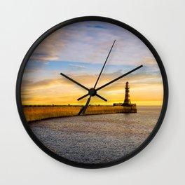 Roker Sundown Wall Clock