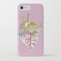 ellie goulding iPhone & iPod Cases featuring my heart is real by Bianca Green