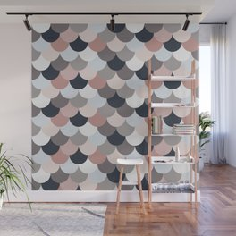Spring pastel bubbles Wall Mural