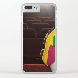 I enjoy going to the cinema. Taking a dress off. Closing my eyes. Watching the Dreamers Clear iPhone Case