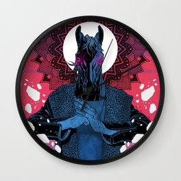 Behold your King - MEGA CHEVAL Wall Clock
