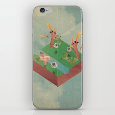 a r c a d i a iPhone & iPod Skin
