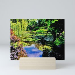 Monet's Lily Pond at Giverny France Mini Art Print
