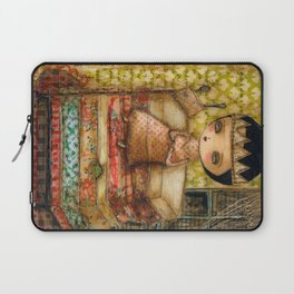 Sleepless Nights With The Princess And The Pea Laptop Sleeve