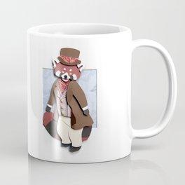 Mr. Red Panda Coffee Mug