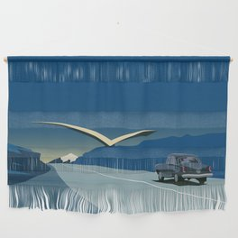 """Soviet Modernism: """"Seagull"""" road mark at the northern entry of Yerevan Wall Hanging"""