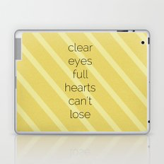 Clear Eyes, Full Hearts, Can't Lose-Friday Night Lights  v2.0 Laptop & iPad Skin