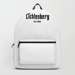 Berlin t-shirt east berlin lichtenberg berlin east district shirt t-shirt Backpack