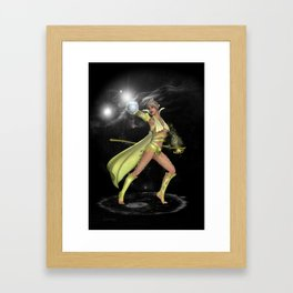 The Enchantress .. fantasy Framed Art Print
