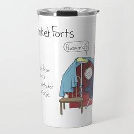 Build Blanket Forts Travel Mug