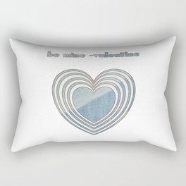 Be Mine Valentine Rectangular Pillow