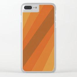 Retro Sunlight Clear iPhone Case