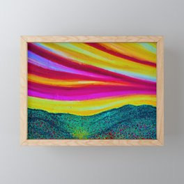 SPRING IS COMING Framed Mini Art Print