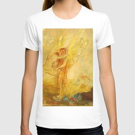 "Odilon Redon ""Jacob Wrestling with the Angel"" T-shirt"
