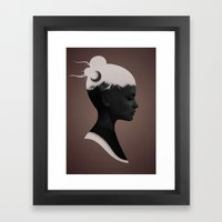 She Just Framed Art Print