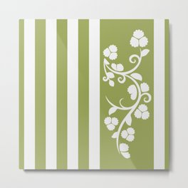Floral 4c Metal Print